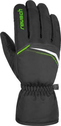 Перчатки Горнолыжные Reusch 2020-21 Snow King Black/Neon Green (Inch (Дюйм):9)