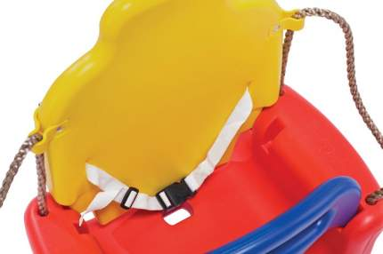 Качели детские Капризун 3 в 1, красный-желтый-синий