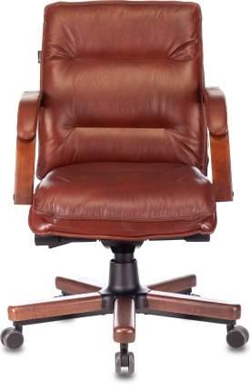 Кресло руководителя Бюрократ T-9927WALNUT-LOW светло-коричневый (t-9927walnut-low/ch)