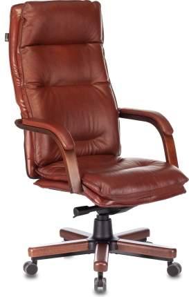 Кресло руководителя Бюрократ T-9927WALNUT светло-коричневый (t-9927walnut/chok)