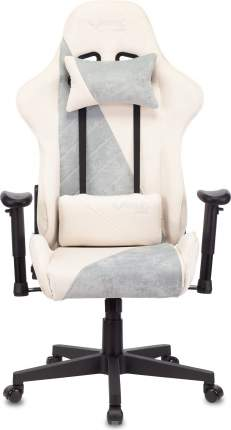 Кресло игровое Zombie VIKING X белый/серо-голубой (viking x blue)