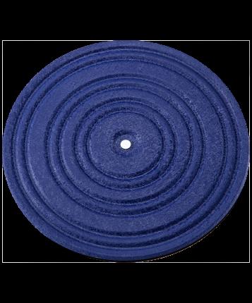 Диск здоровья FA-210, металл, синий/черный