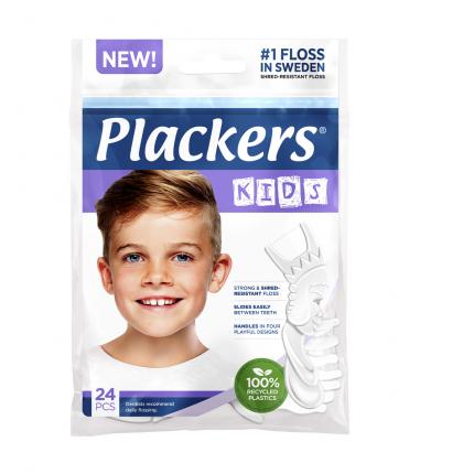 Зубная нить Флоссер Plackers Kids