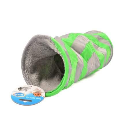 Тоннель для все грызуны Duvo+Туннель мягкий, нейлон, текстиль, 35х10см