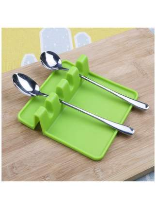 Подставка для кухонных принадлежностей Kitchen Utensil Rest (Цвет: Зелёный )