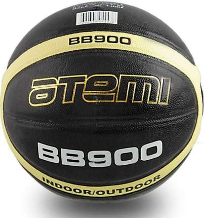 Баскетбольный мяч Atemi BB900 №7 black