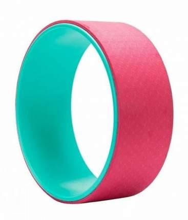 Колесо для йоги Atemi AYW01, зеленый/розовый