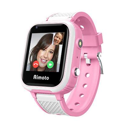 """Смарт-часы Aimoto Pro Indigo 4G, 1.44"""", розовый / розовый"""