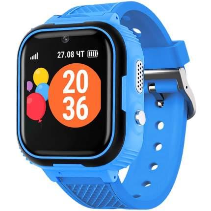 """Смарт-часы GEOZON G-Kids Junior, 44мм, 1.44"""", черный/синий / синий"""