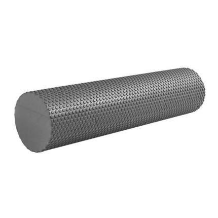 B31602-8 Ролик массажный для йоги (черный) 60х15см.