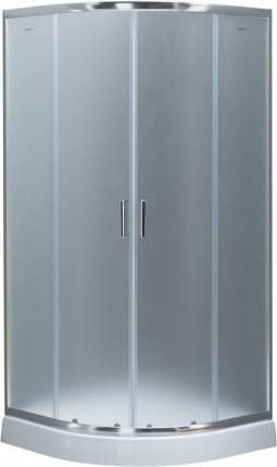 Душевой уголок Aquanet SE-800Q 800x800, узорчатое стекло