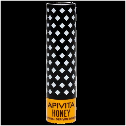 Био уход для губ Apivita Увлажняющий Мёд