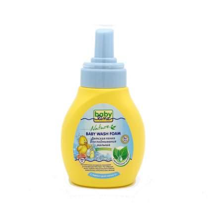 Детская пенка для подмывания малыша Babyline с растительными экстрактами, 2x250 мл