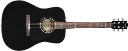 Акустическая гитара FENDER CD-60 DREAD V3 DS BLK WN