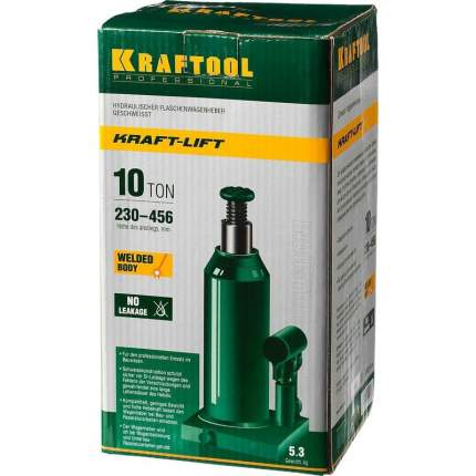 Домкрат гидравлический бутылочный KRAFTOOL 43462-10_z01 10 т