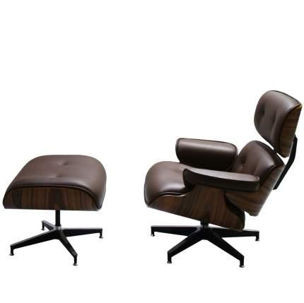 Кресло Bradex Home EAMES LOUNGE CHAIR коньячный FR 0006-7