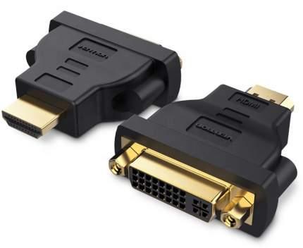 Адаптер-переходник GSMIN BR-04 DVI (24+5) (F) - HDMI (M) (Черный)