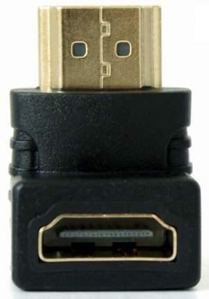 Адаптер-переходник GSMIN BR-01 (угловой 90°) HDMI (F) - HDMI (M) (90 градусов) (Черный)