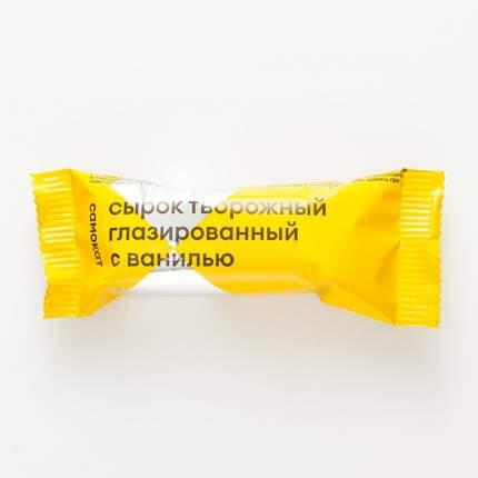 Сырок творожный Самокат глазированный; с ванилью; 15%; 45 г
