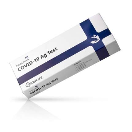 Экспресс тест на коронавирус  + NowCheck Covid-19 Ag (антиген)  + 0001