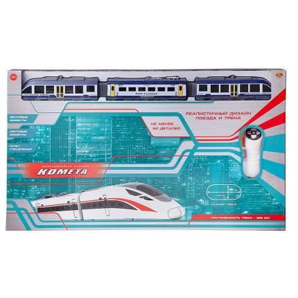 ABtoys Комета, Железнодорожный экспресс, с пультом управления, свет и звук C-00411