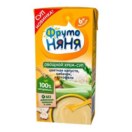 ФрутоНяня Крем-суп овощной цветная капуста-кабачки-картофель, с 6 месяцев, 200 г