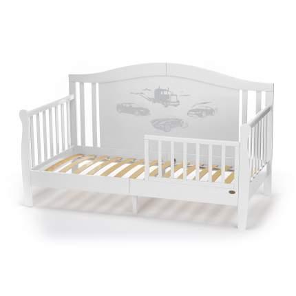 Детская кровать-диван Nuovita Stanzione Verona Div Macchina Bianco/Белый