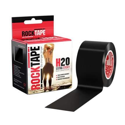 Кинезиотейп Rock Tape H2O черный 500 см