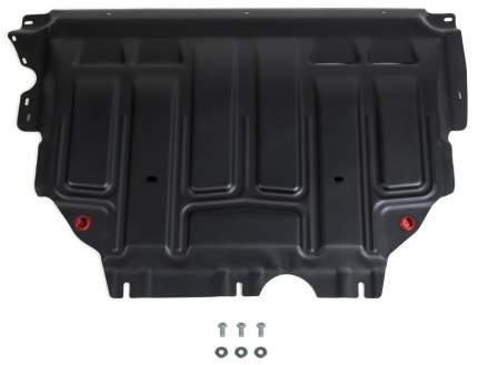 Защита картера, КПП АвтоБроня Skoda Karoq/Skoda Kodiaq 17-/VW Tiguan 16-/Taos, 111.05127.1