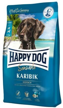 Сухой корм для собак Happy Dog Karibik, рыба, 2.8кг
