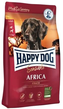 Сухой корм для собак Happy Dog Africa, страус, картофель,  2.8кг