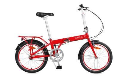 Велосипед Shulz Max 2021 One Size red