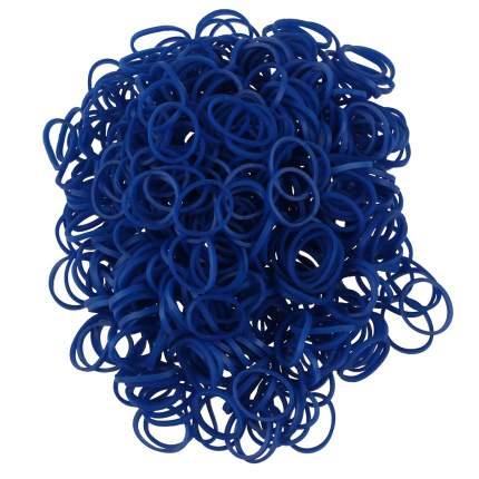 Набор резинок для плетения в пакетике 10 000 шт К-105-5 цв. Тёмно-синий