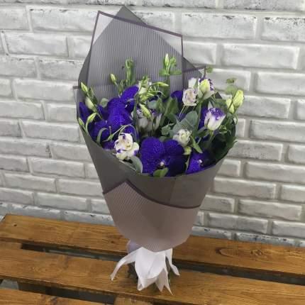 Букет FlorPro из эустом и орхидеи