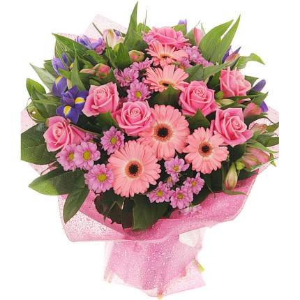 Букет FlorPro Розовое счастье