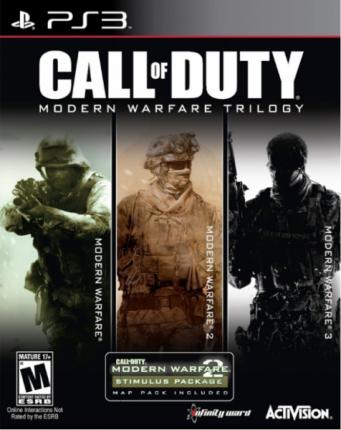 Сборник Call of Duty Modern Warfare Collection Trilogy PS3
