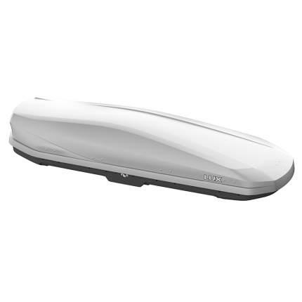 Бокс на крышу LUX IRBIS 206, 470л серый матовый, 206х75х36, с 2-сторонним откр. LUX-793464