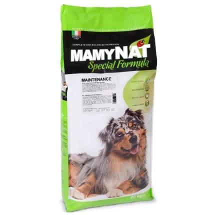 Сухой корм для собак MamyNAT Maintenance для взрослых собак, курица,  20кг
