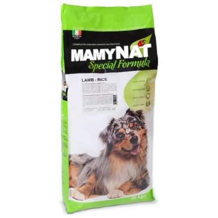 Сухой корм для собак MamyNAT при чувствительном пищеварении, мясо,  20кг
