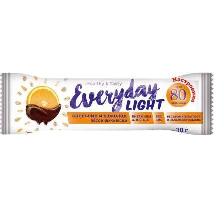 """Батончик - мюсли Everyday Light """"Шоколад и апельсин"""", 30 г"""