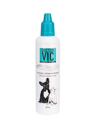 Лосьон для кошек, для собак Doctor VIC, гигиенический,  60мл
