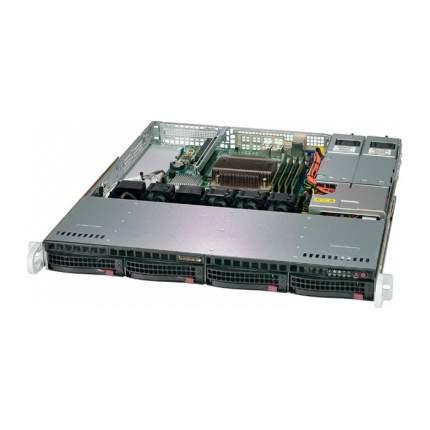 Серверная платформа Supermicro SYS-5019C-MR Black