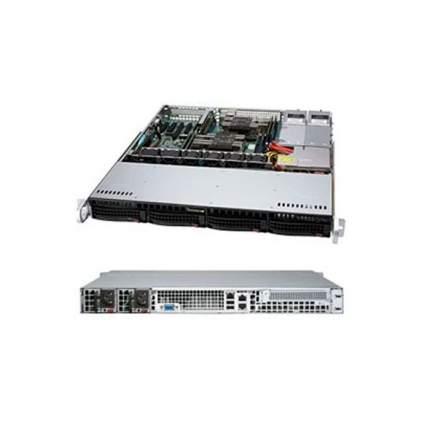 Серверная платформа Supermicro SYS-6019P-MTR Black