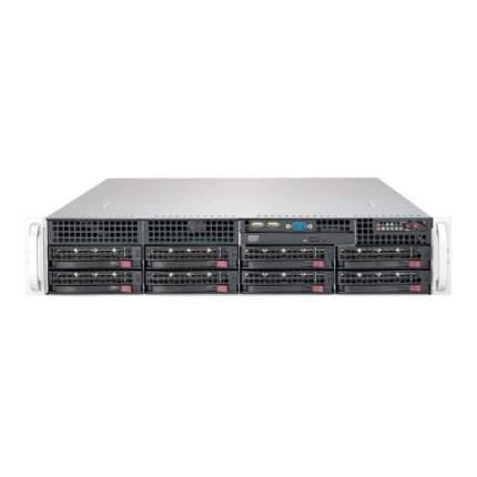 Серверная платформа Supermicro SYS-6029P-TRT Black