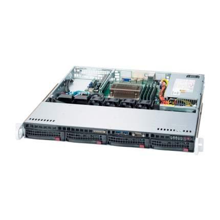 Серверная платформа Supermicro SYS-5019S-M2 Black