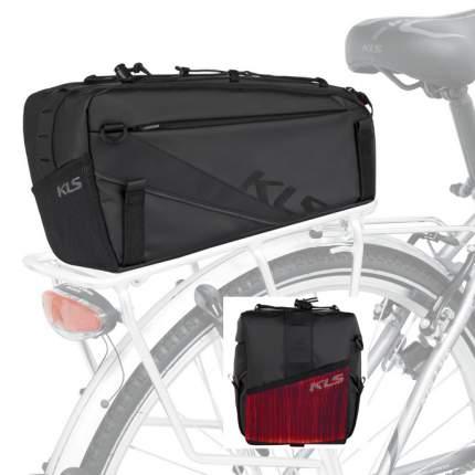 Велосипедная сумка Kellys Space 10 Lightning черная