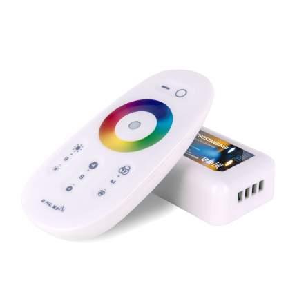 Сенсорный контроллер Elektrostandard для светодиодной ленты RGB с ПДУ 12V (радио)