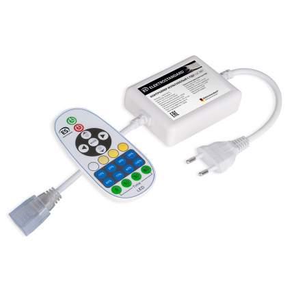 Контроллер Elektrostandard для светодиодной ленты Premium мультибелый с ПДУ 220V