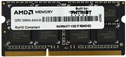 Оперативная память AMD Radeon 4GB AMD Radeon DDR3 1333 SO R3 Value Series Black