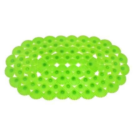 Коврик для ванны на присосках Ракушки (Цвет: Зелёный  )